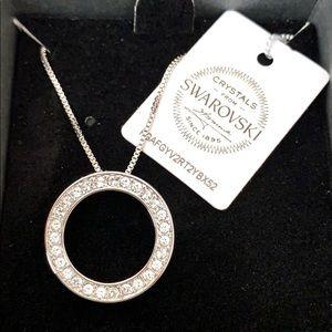Swarovski Crystals Classic Circle Pendant